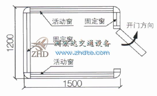 贵州省洲鸭游官网岗亭ZHD-GT-01