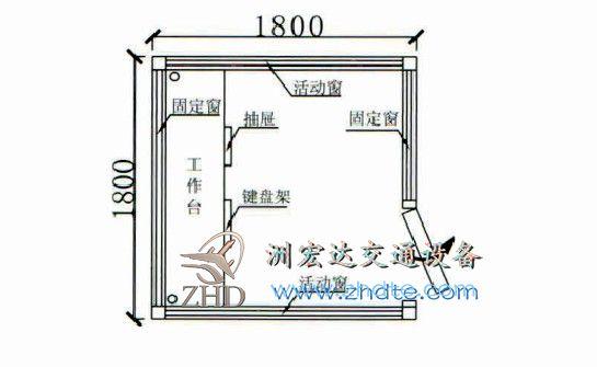 贵州省兴发娱乐岗亭ZHD-GT-40