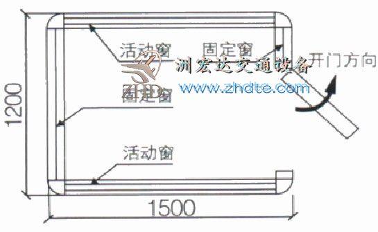 贵州省叉叉电竞 岗亭ZHD-GT-09