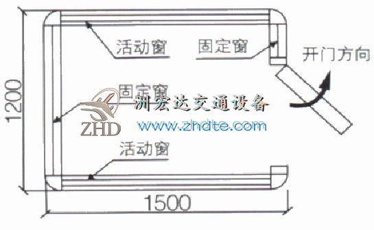 贵州省洲宏达岗亭ZHD-GT-10