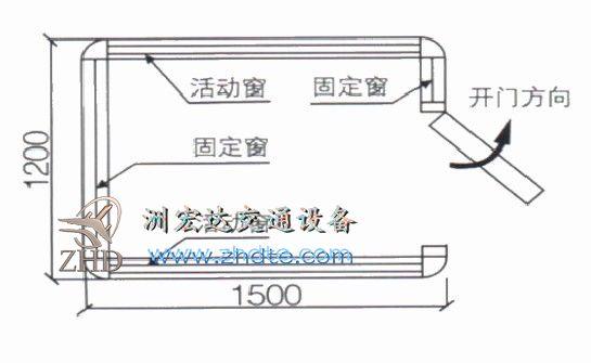 贵州省AG亚游手机版app 岗亭ZHD-GT-06