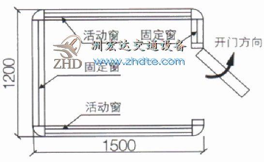 贵州省红龙德州APP下载 岗亭ZHD-GT-11