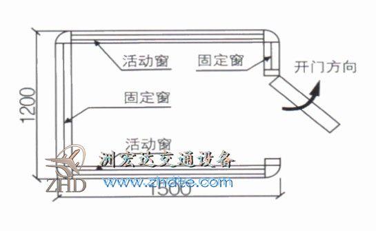 贵州省亚博国际官网登录 岗亭ZHD-GT-22