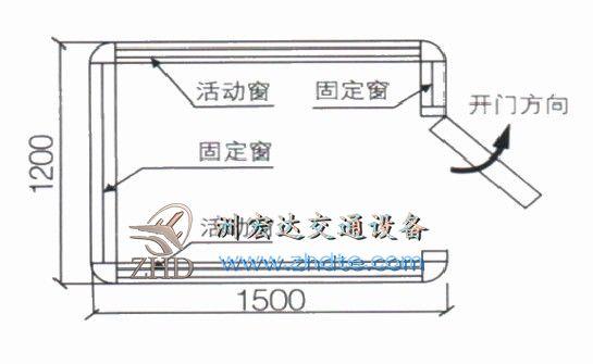 贵州省AG亚游集团网址 岗亭ZHD-GT-07