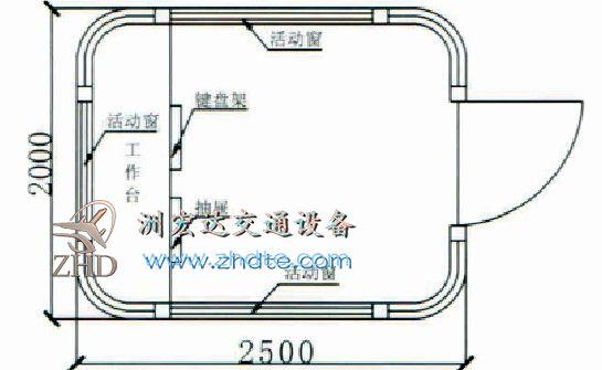 贵州省和记怡情h88 岗亭ZHD-GT-33