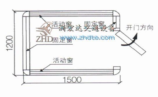 贵州省AG亚游手机版app 岗亭ZHD-GT-05