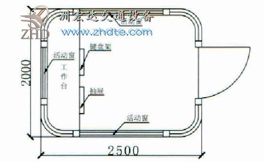 贵州省洲宏达岗亭ZHD-GT-35