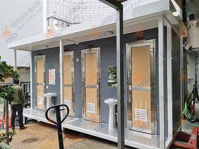 清镇4联排移动厕所