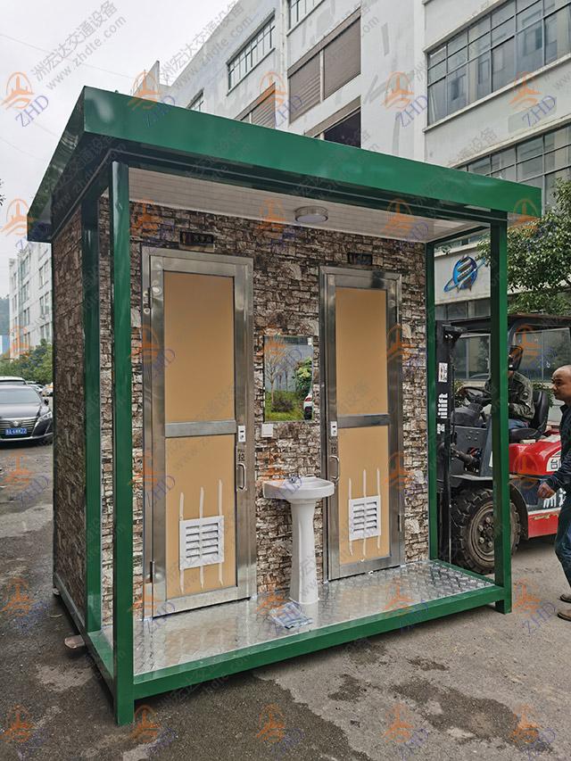 清镇恐龙小镇双排移动厕所