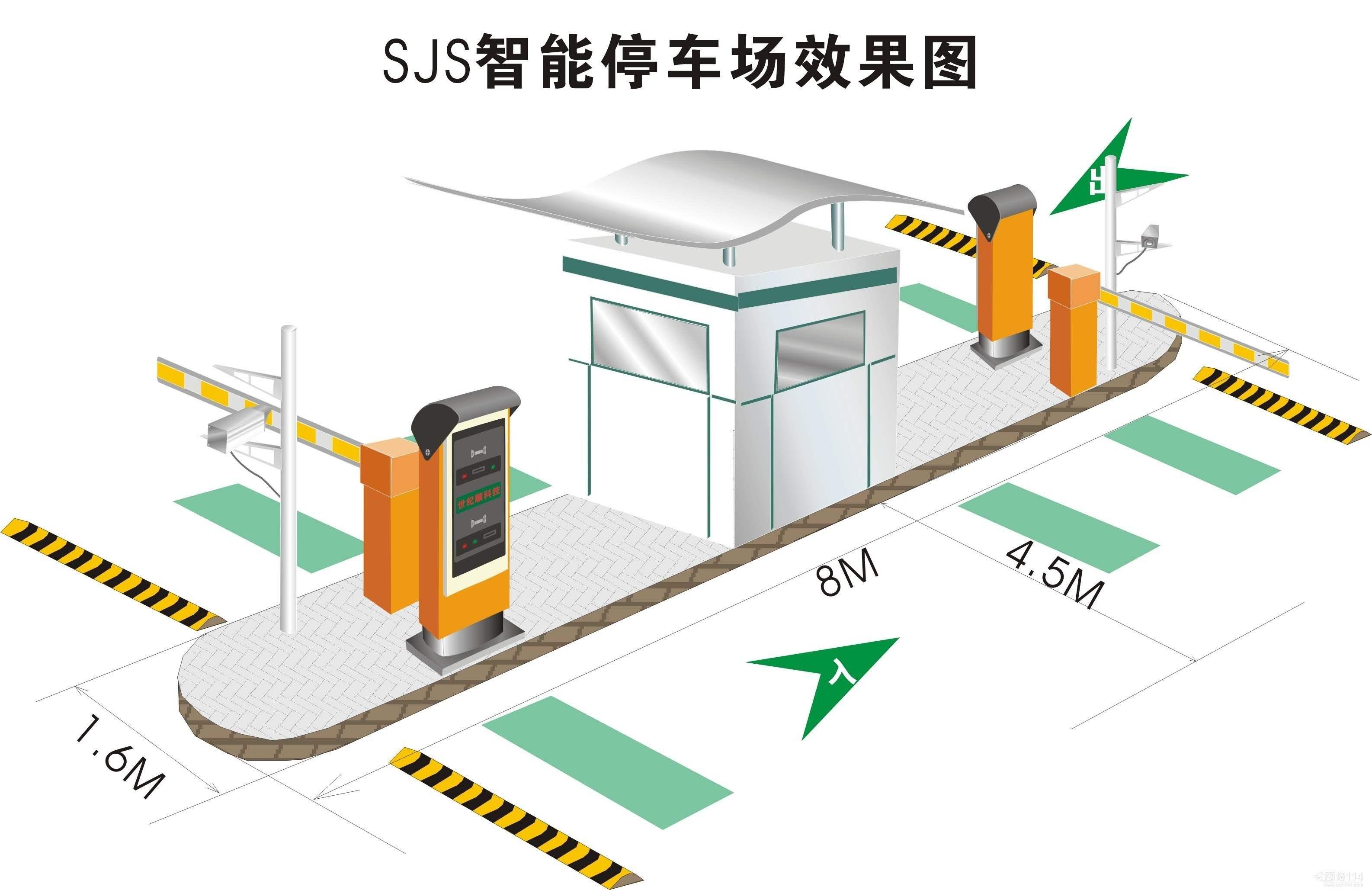 贵阳停车场系统功能特点